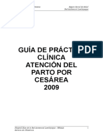 Gpcl-Atención de Parto Por Cesarea