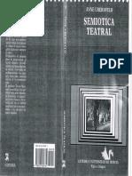 UBERSFELD Anne - Semiotica Teatral