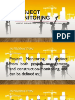 PROJECT MONITORING REPORT.pptx