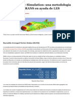 Detached Eddy Simulation- Una Atractiva...Og - Análisis Mecánico Al Nivel de ART