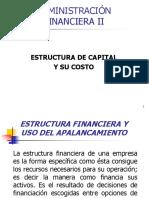 Estructura de Capital y Su Costo