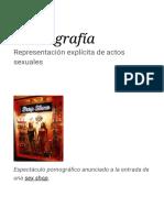 Pornografía - Wikipedia, La Enciclopedia Libre
