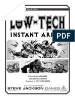 GURPS 4e - Low Tech - Instant Armor