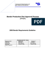 2009 Bendix Ppap Requirements Guidelines Rev 1-9-2009