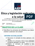 Clase 1 y 2_etica y Legislación 2018