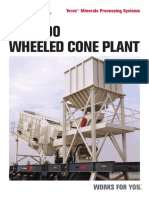 74.Terex® WC1000 Wheeled Cone and Inclined Screen Plant - E