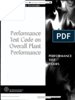 Asme Ptc 46 Performance Test Codes Overall Plant Performance