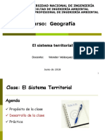GEO Clase Sistema Territorial