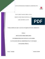 Dossier Derecho Administrativo