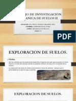 Trabajo de Investigaciòn Mecanica de Suelos II Ensayo Dpl
