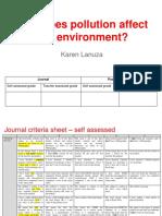 the science journal by karen lanuza