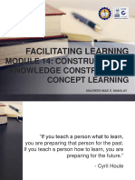 Facilitating Learning - Module 1 - Metacognition