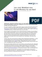 2011 04 Solar Power Viral Virus Solar Cell
