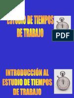 MÉTODOS ESTUDIO DE TIEMPOS