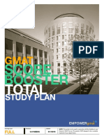 EMPOWERgmat Score Booster Total Study Plan 2019