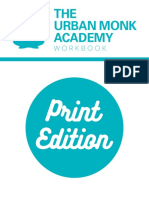 Urban Monk Academy Workbook Print