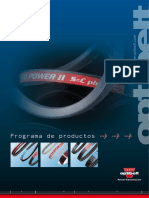 Optibelt Catalogo de Productos Industriales