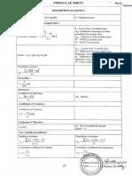 Statistics Formula Sheet