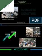 Diapositiva de manejo de desastres