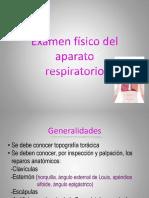 Examen Físico Respiratorio