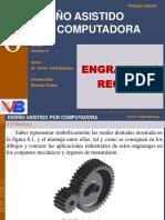 Capitulo 06 Engranaje Recto - formulas - nomenclatura - dimensionado - VICTOR - VIDAL - BARRENA