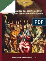 Los Dones del Espiritu Santo según Santo Tomas de Aquino