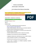 Instrucciones Evidencias Ambiente AD2018
