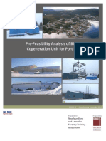 49680E Fesibility Report for COGEN