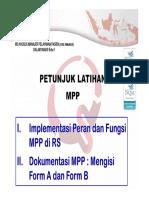 Petunjuk Pelatihan WS MPP-Febr2018