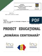 proiect România centenară