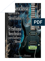 The Neoclassic Approach to Shred Guitar