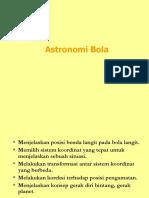 Astronomi Bola