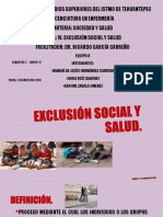 Tema IV-exclusión Social y Salud