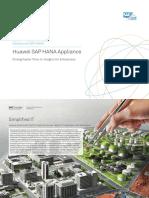 Huawei Solutions for SAP HANA Data Sheet