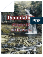 Denudation -Unit Test
