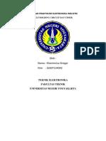 Laporan Praktikum Elektronika Industri Timer
