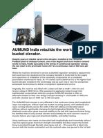 Aumund India Rebuilds the Worlds Hightest Bucket Elevator 6973726 76194919