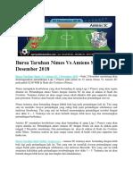 Bursa Taruhan Nimes vs Amiens SC 2 Desember 2018