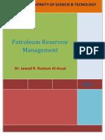 (3) Reservoir Management Jawad_د جواد راضي العسل