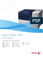 Xerox Phaser 6700 User Guide