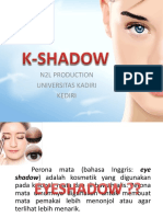 Pendirian Usaha Kosmestik Tradisional (K-Shadow)
