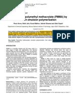 PMMA Process