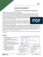 CERT C Compliancy Datasheet