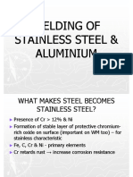 6 - Welding of Stainless Steel & Aluminium