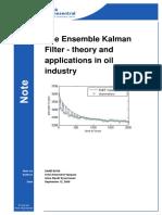 Almendral Vazquez - Ensemble Kalman Filter - Theory and Applications i