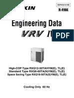 Daikin Vrv IV Engineering Data