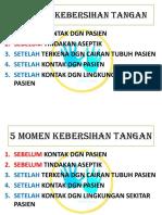 5 Momen Kebersihan Tangan