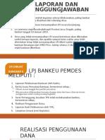 Tata Cara Pembuatan Lpj Bankeu Prov