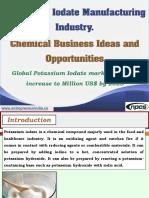 Potassium Iodate Manufacturing Industry