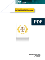 S7. Actividad integradora. Estado actual de la política exterior mexicana